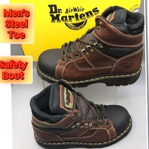 Dr. Martens Men's Industrial Steel Toe Work Boot